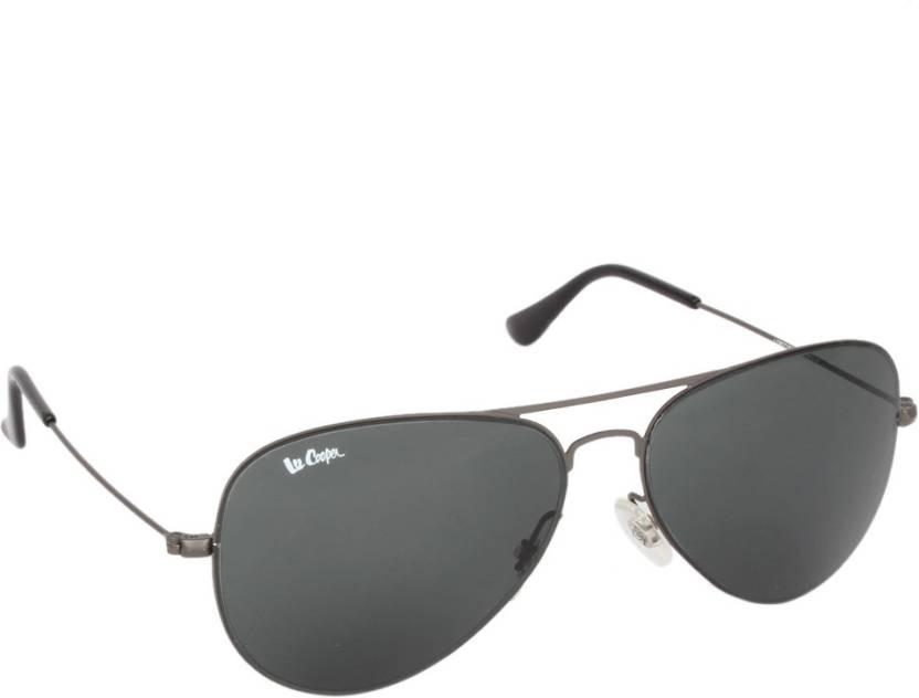fab5f73cbb Buy Lee Cooper Aviator Sunglasses Green For Men   Women Online ...