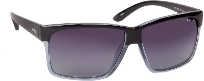 bfee5c852e0 Buy IDEE Wayfarer Sunglasses Blue For Men Online   Best Prices in ...