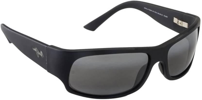be6ba14ebd Buy Maui Jim Rectangular Sunglasses Grey For Men   Women Online ...