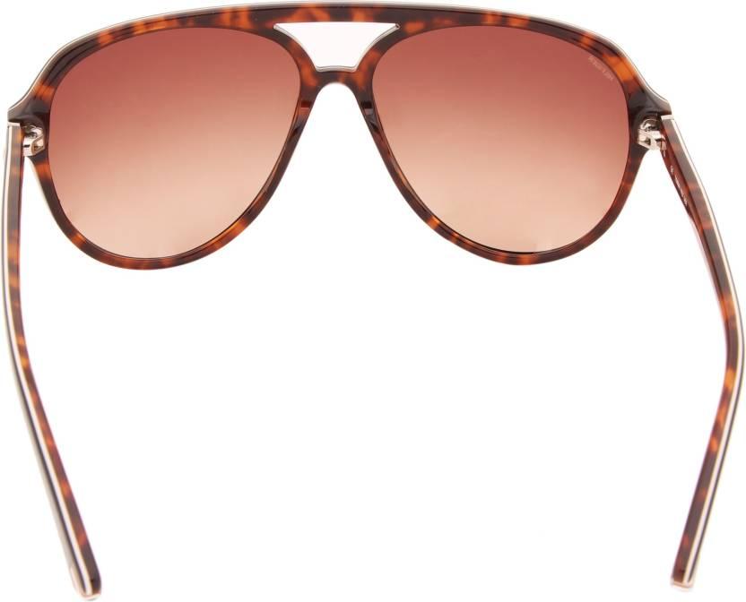 9aa5c2aa9b78 Buy Tommy Hilfiger Aviator Sunglasses Brown For Men Online @ Best ...