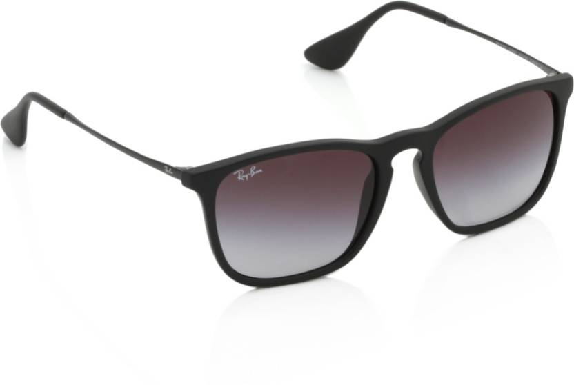 0f12aa7462e Buy Ray-Ban Wayfarer Sunglasses Grey For Men Online   Best Prices in ...