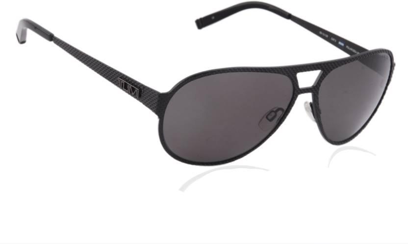 72dbfefc919 Buy Tumi Aviator Sunglasses Grey For Men   Women Online   Best ...