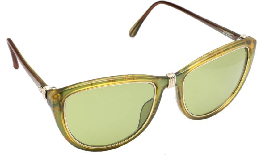 8b8482dcdce Buy Christian Dior Aviator Sunglasses Green For Men   Women Online ...