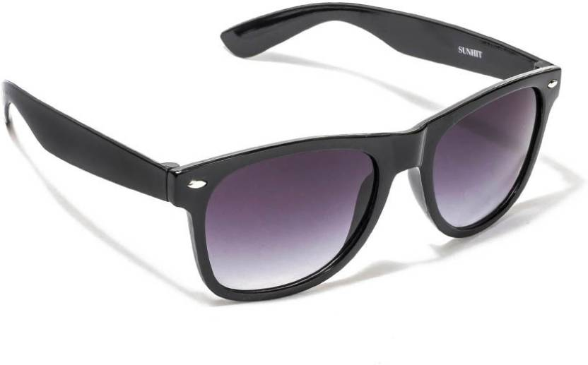 9aabfc57c38 Buy VESPL Rectangular Sunglasses Black For Men Online   Best Prices ...