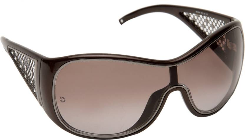2c1c65be41a Buy Montblanc Rectangular Sunglasses Brown For Women Online   Best ...