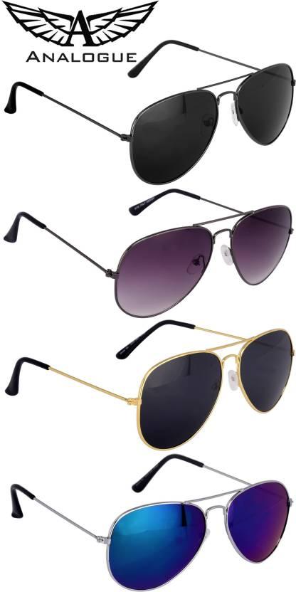 Analogue Aviator Sunglasses