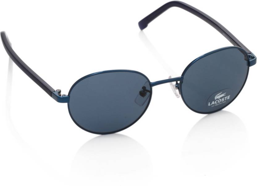6a6b17c10c5 Buy Lacoste Round Sunglasses Blue For Men Online   Best Prices in ...