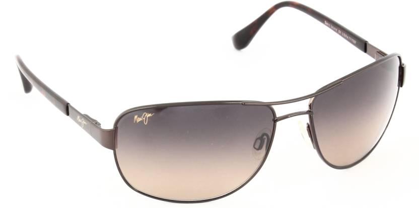 8f132ae386e Buy Maui Jim Aviator Sunglasses Violet For Men & Women Online @ Best ...