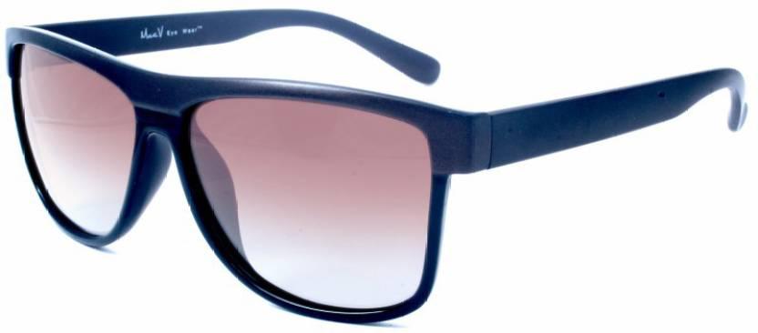 16ade0f1ad Buy Macv Eyewear Wayfarer Sunglasses Brown For Men   Women Online ...