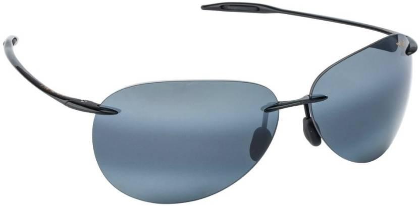 758b9f75d48f Buy Maui Jim Aviator Sunglasses Grey For Men   Women Online   Best ...