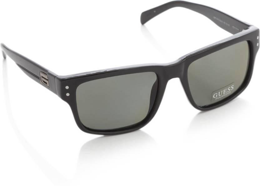 971e7935d Buy Guess Wayfarer Sunglasses Grey For Men Online @ Best Prices in ...