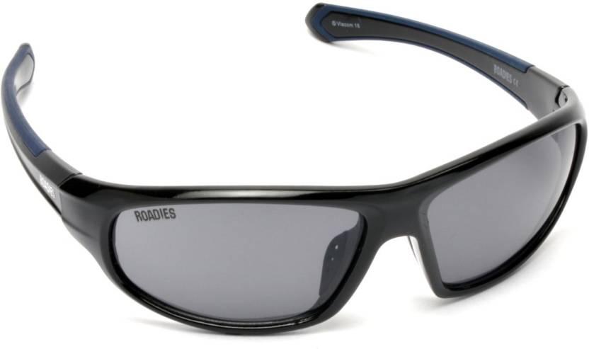 22a4602bd5a Buy MTV Roadies Sports Sunglasses Grey For Men   Women Online   Best ...