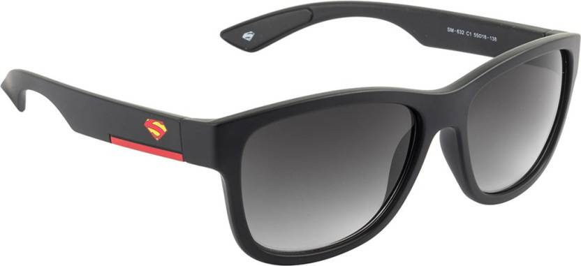 85c3b492c871 Buy Superman Wayfarer Sunglasses Grey For Men & Women Online @ Best ...