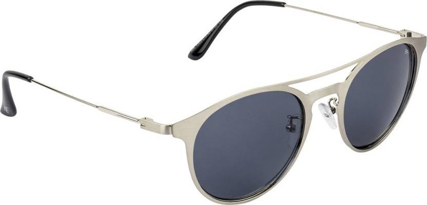 19317716886 Buy Farenheit Round Sunglasses Blue For Men   Women Online   Best ...