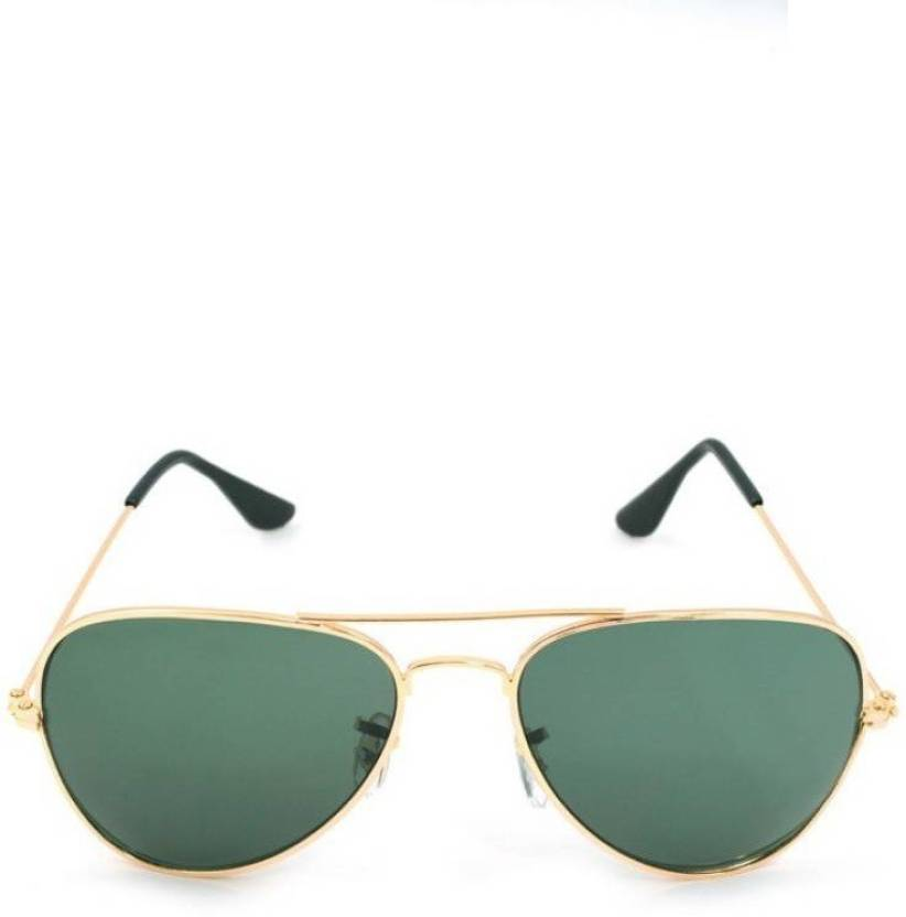 474cf50d5719 Buy Amour-propre Rectangular Sunglasses Green For Men   Women Online ...