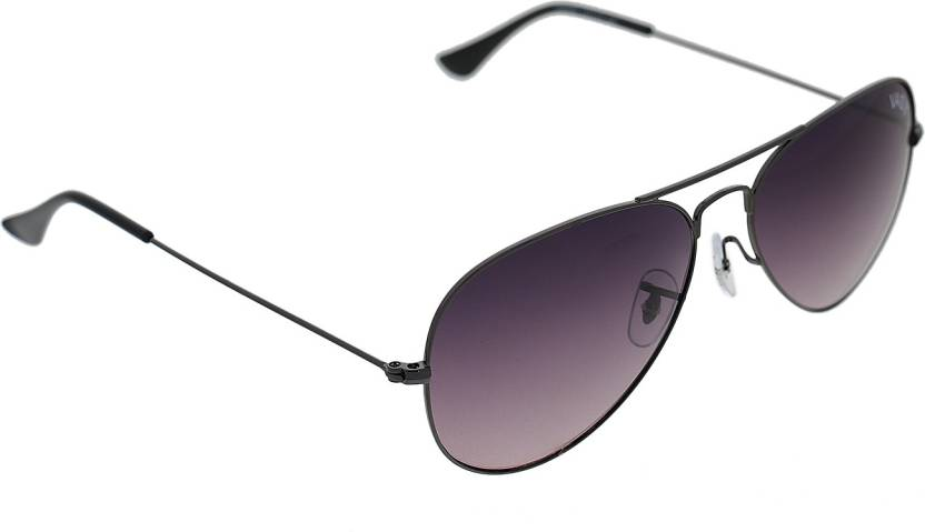 950925b5f01 Buy Vast Aviator Sunglasses Grey For Men Online   Best Prices in ...