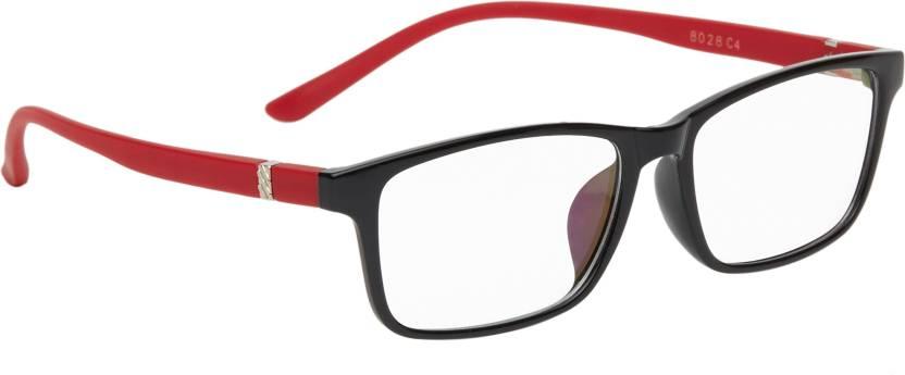a47d7e3673 Buy Vast Rectangular Sunglasses Clear For Men   Women Online   Best Prices  in India