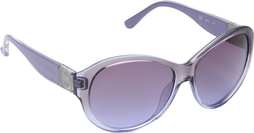 Buy Michael Kors Round Sunglasses Blue For Women Online   Best ... bb8bb49802ff