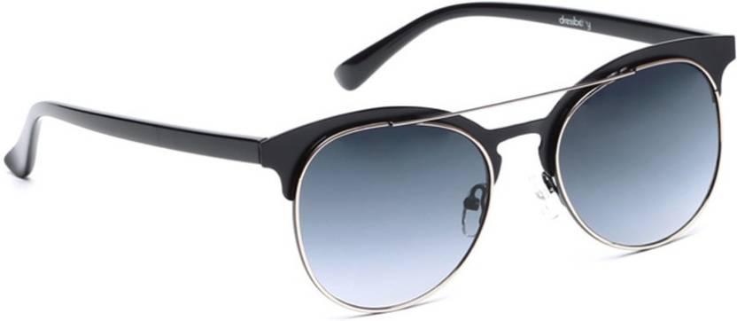 2ce5f93f96e42 Buy Dressberry Oval Sunglasses Grey For Men   Women Online   Best ...