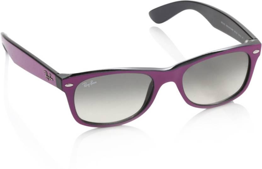Buy Ray-Ban Wayfarer Sunglasses Grey For Men Online   Best Prices in ... 74db86b4d4c1