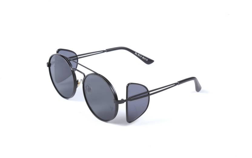 8fde32f0d5ce Buy Black Buck Spectacle Sunglasses Black For Men   Women Online ...