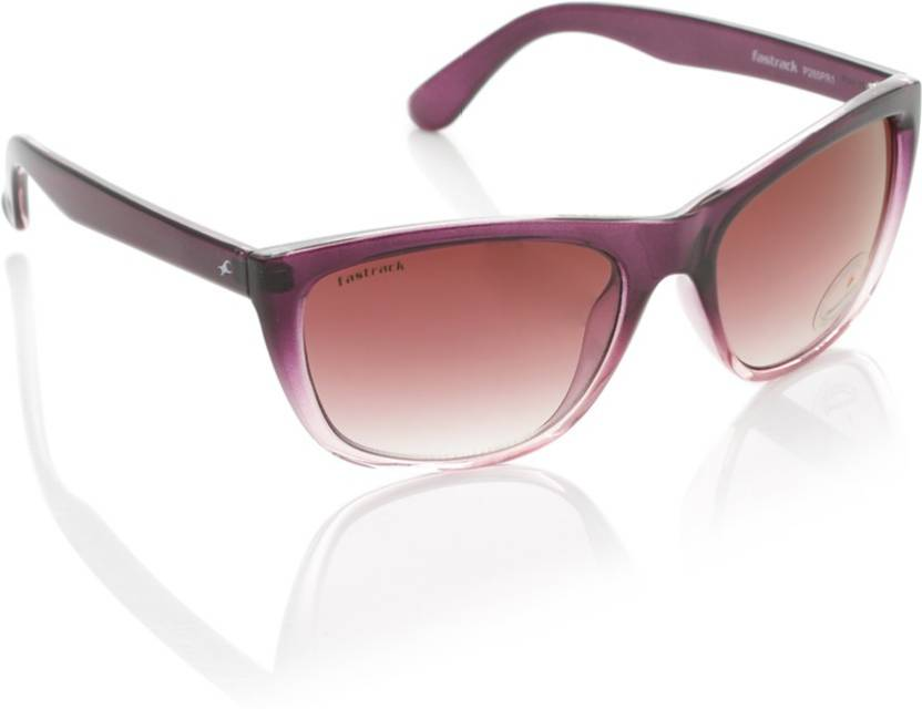 a74717b199 Buy Fastrack Cat-eye Sunglasses Pink For Women Online   Best Prices ...