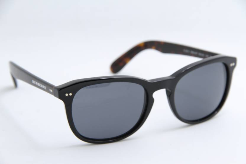 9dab0e3c31c Buy Burberry Wayfarer Sunglasses Grey For Men   Women Online   Best ...