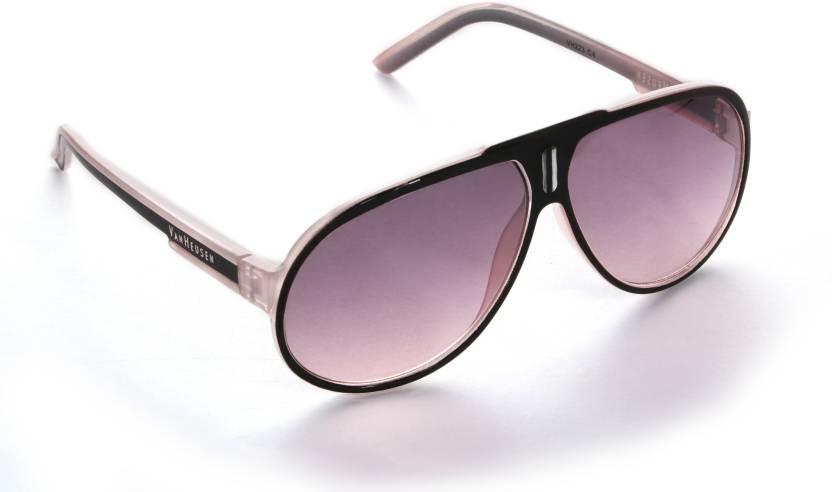 4d995f06d2f6 Buy Van Heusen Aviator Sunglasses Violet For Men & Women Online ...