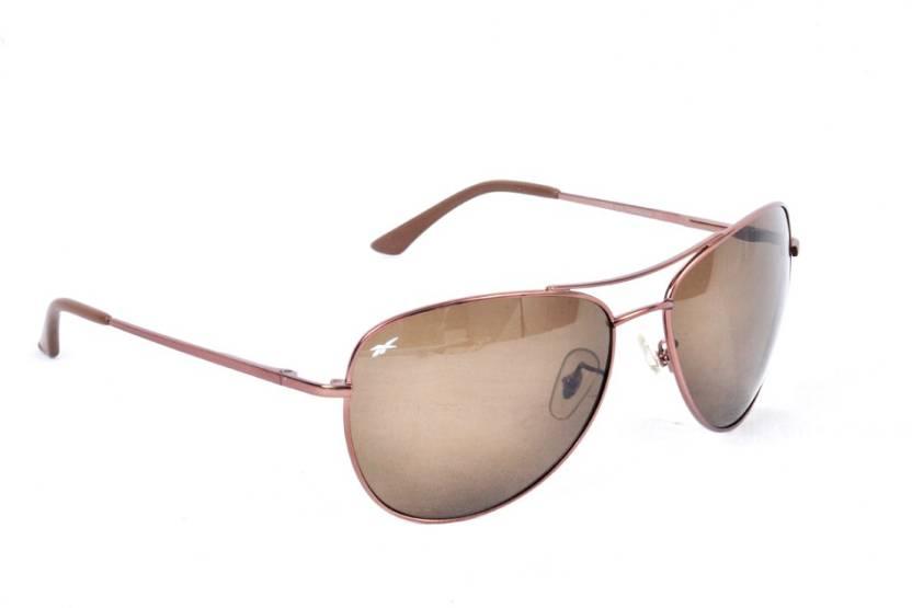 b9c292632b98 Buy REEBOK Aviator Sunglasses Black For Men Online @ Best Prices in ...