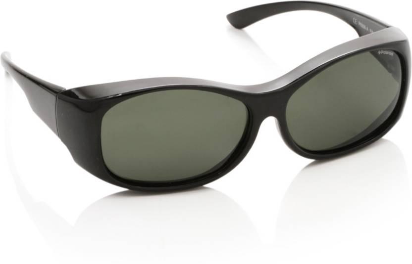 Buy Polaroid Spectacle Sunglasses Green For Men   Women Online ... 6bb7e351ba