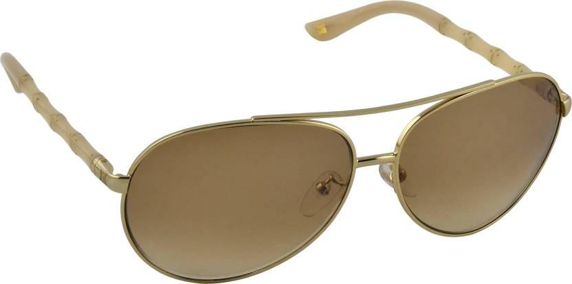 b79fa17bc4b Buy Escada Aviator Sunglasses Brown For Men   Women Online   Best ...