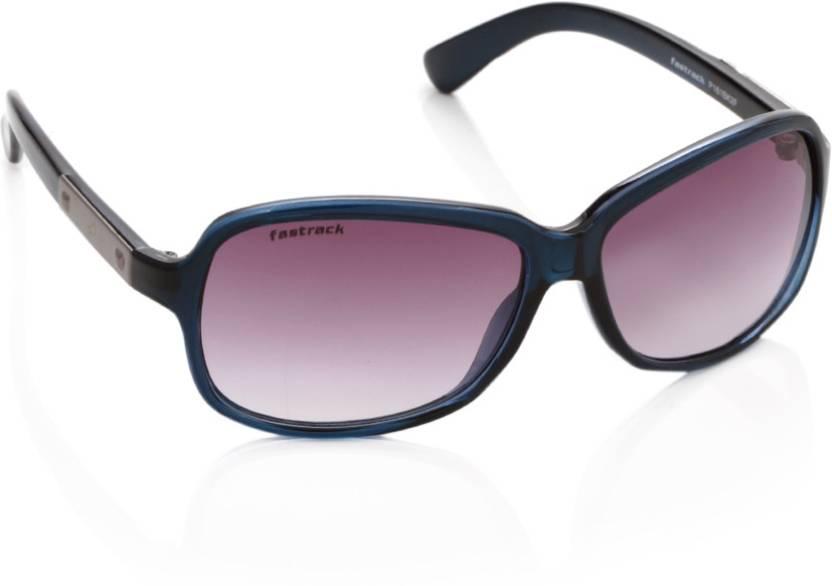 238ea4a81e5 Buy Fastrack Rectangular Sunglasses Violet For Women Online   Best ...