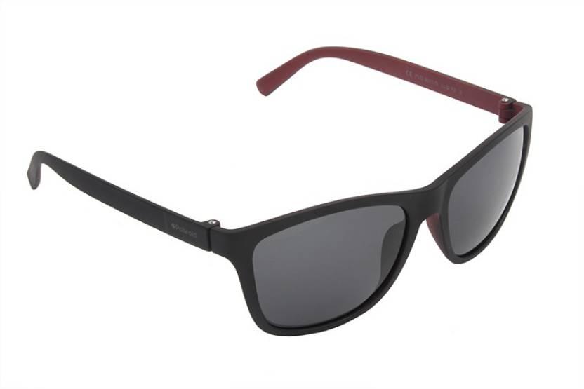 6eba7735b3a Buy Polaroid Wayfarer Sunglasses Black For Men   Women Online   Best ...