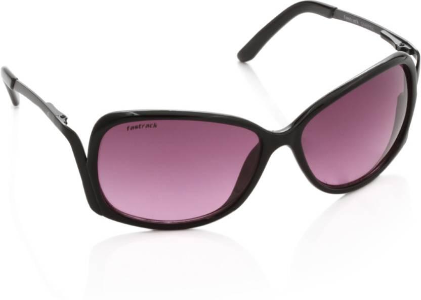 984773e19d Buy Fastrack Over-sized Sunglasses Violet For Men   Women Online ...