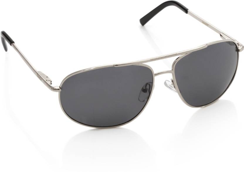 21a8d260d58 Buy Timberland Aviator Sunglasses Grey For Men Online   Best Prices ...