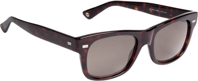 44a57166d Buy GUCCI Wayfarer Sunglasses Brown For Men & Women Online @ Best ...