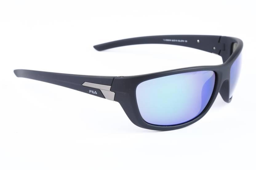 f5b2d661c8f Buy Fila Round Sunglasses Multicolor For Men Online   Best Prices in ...