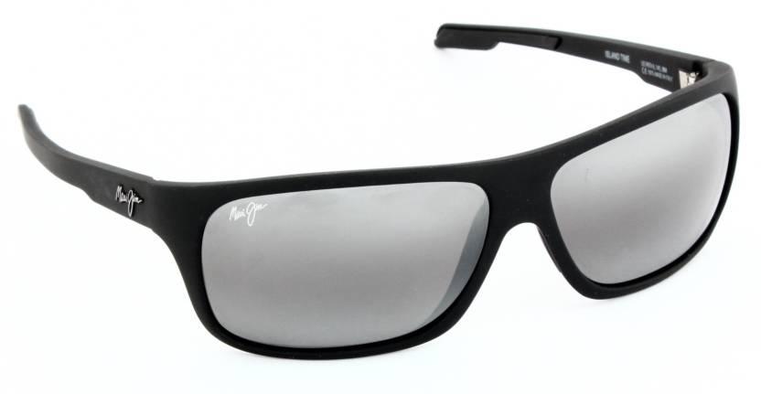 4cf3c2d176 Buy Maui Jim Rectangular Sunglasses Grey For Men & Women Online ...