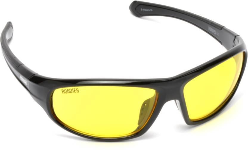 ec5659fbf5 Buy MTV Roadies Sports Sunglasses Yellow For Men   Women Online ...