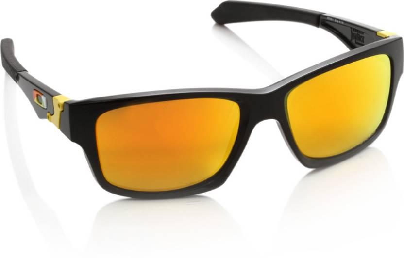 abde32ac8c Buy Oakley JUPITER SQUARED Rectangular Sunglass Orange For Men ...