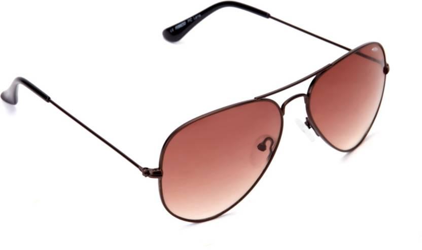 858440f9774a Buy Ferrero Aviator Sunglasses Brown For Men & Women Online @ Best ...
