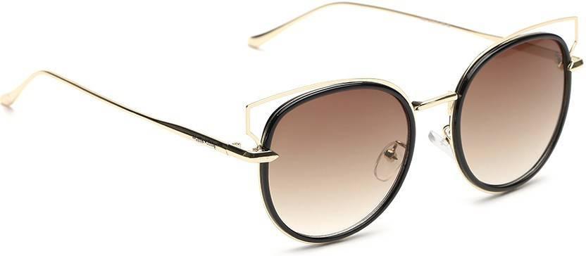4d4b88643 Buy Hello Kitty Cat-eye Sunglasses Brown For Women Online @ Best ...