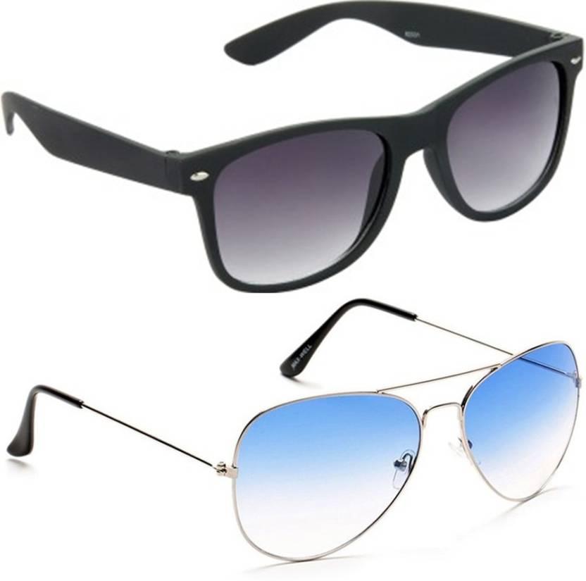 afd64120bf9 Buy Whay Wayfarer Sunglasses Black