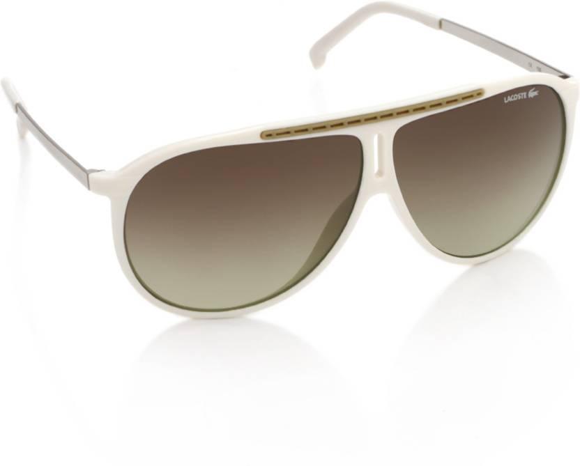 38c85e6696fe Buy Lacoste Over-sized Sunglasses Brown For Men   Women Online ...