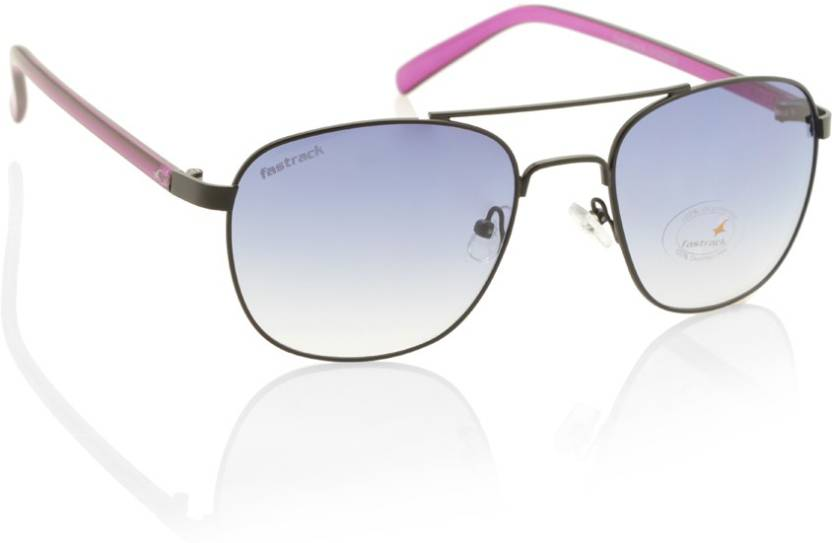 Flat 30% Off On Fasttrack Sunglasses By Flipkart | Fastrack Wayfarer Sunglasses  (Violet) @ Rs.1,039