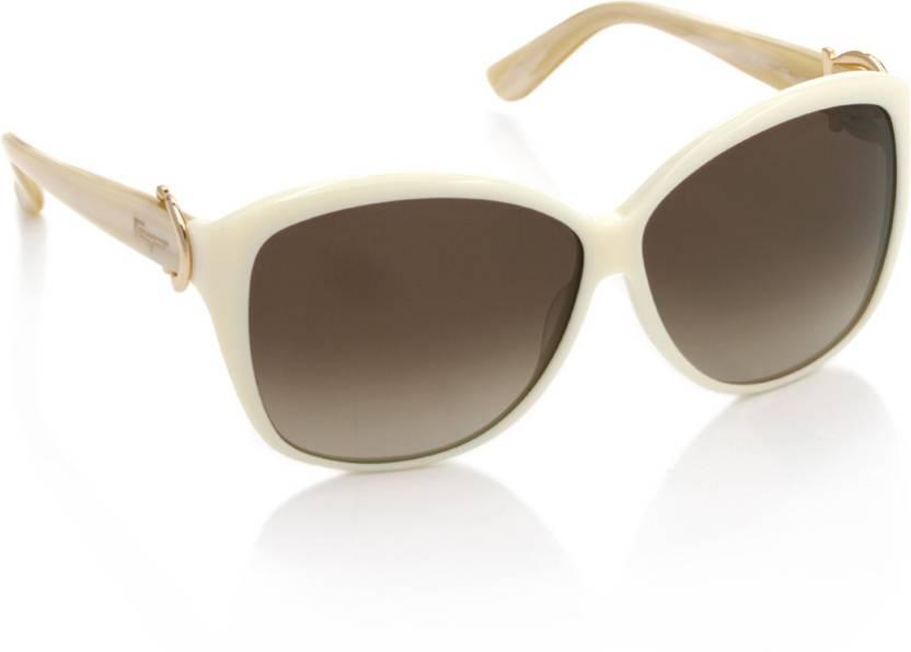 e81f20253a9 Buy Salvatore Ferragamo Over-sized Sunglasses Brown For Women Online ...
