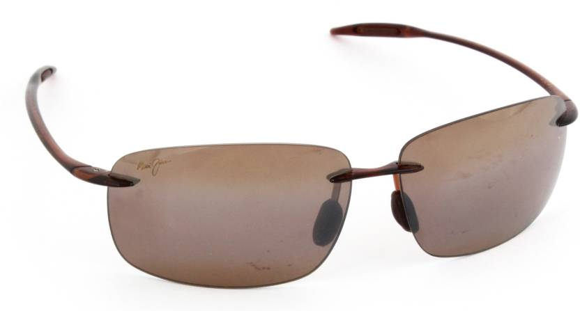 c4548e022e0 Buy Maui Jim Rectangular Sunglasses Brown For Men & Women Online ...