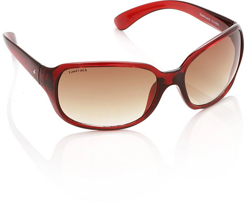 d530967a8e Buy Fastrack Over-sized Sunglasses Brown For Women Online   Best ...
