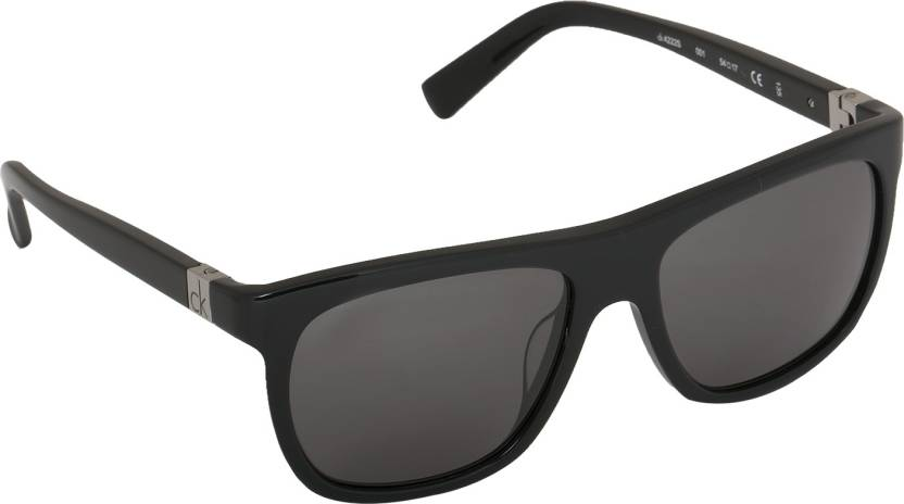 45108ff8b8 Buy Calvin Klein Wayfarer Sunglasses Grey For Men Online   Best ...