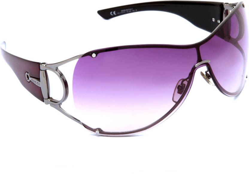 4950b2f103c Buy GUCCI Oval Sunglasses Violet For Women Online   Best Prices in ...